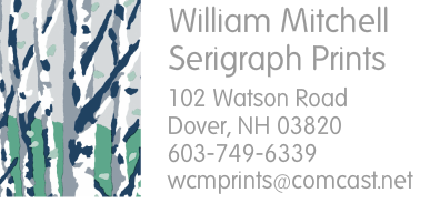 William Mitchell Serigraph Prints